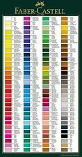 FABER CASTELL - POLYCHROMOS SINGLES - MOST BELOVED ARTISTS' PENCILS - 230 TO 283
