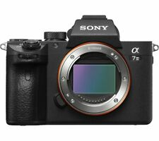 SONY a7 III Mirrorless Camera - Black Body Only - Currys