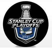 ST. LOUIS BLUES 2021 NHL PLAYOFFS HOCKEY PUCK STANLEY CUP FINAL 1ST 2ND ROUNDS