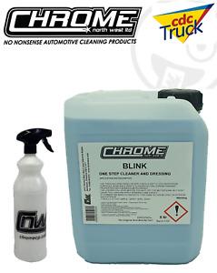 Chrome(NW) BLINK One Step Cleaner for TRUCKS 5 LITRE +1L Bottle + Free Postage