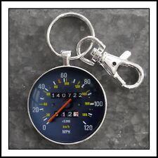 Vintage Volvo 240 Speedometer Photo Keychain Gift 🎁 Free Shipping USA
