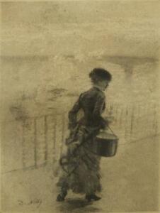 Giuseppe De Nittis etching Impressionist