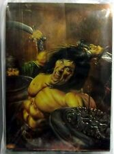 COMPLETE SET OF 90 TRADING CARDS CONAN CHROMIUM S. 3 1995 COMIC IMAGES MINT (4)
