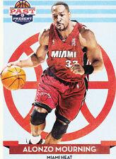 Miami Heat Original Alonzo Mourning Basketball Trading Cards