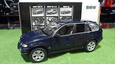 BMW X5 4.4i Dark Blue 4x4 au 1/18  KYOSHO 08521DB voiture miniature collection