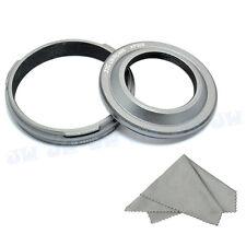JJC Metal Lens Hood Filter Adapter Ring for Fujifilm Finepix X100 X100S LH-X100