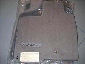 2004 - 2010 Toyota Sienna 7 Pass., Carpet Floor Mats, Stone Gray, PT206-08087-12