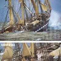 """36W""""x24H"""" LE SIECLE DU BELEM by PHILIP PLISSOM - OCEAN STORM CANVAS"""