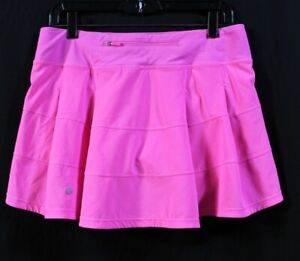LULULEMON PACE RIVAL PINK SKORT / SKIRT.  SIZE 8. EXCELLENT CONDITION!