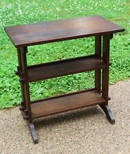 Antique Roycroft Arts & Crafts Quartered Oak Little Journey Books Stand Table NR