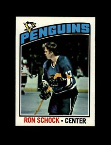 1976-77 Topps Hockey #248 Ron Schock (Peguins) NM+  #AAB123
