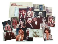More details for classic doctor who collection of 17 x photographs from bbc enterprises 1980s