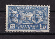 Frankreich France Kat. 225 MNH  1927 gestempelt