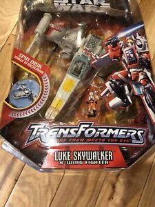 Hasbro Star Wars Transformers - Luke Skywalker X-Wing Fighter NIP