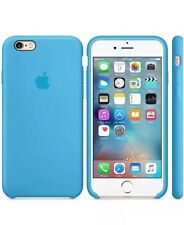 NEW - Genuine Silicone Case for Apple iPhone 6s / 6 in Blue