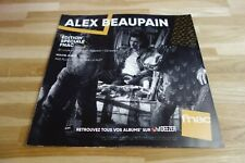ALEX BEAUPAIN - Pas plus le jour que la nuit - PLV 30 X 30 CM !!!!!!