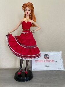 Barbie Cindy Lauper Ladies of the ' 80s Collector Pink Label No box