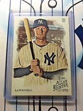 DJ LeMahieu 2019 Topps Allen & Ginter Baseball Card# 266 New York Yankees Qty