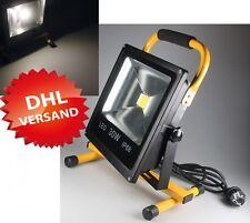 1* HI-Power LED Baustrahler extrem hell 30W 2400lm 12V 230V IP65 Arbeitsleuchte