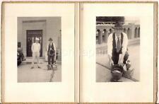 "Stylish Men ""SENECAVILLE DAM 1935"" OH Fish Pail Marsh Wheeling Box 1930s Photos"