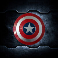 """19"""" Marvel Captain America Metal Shield Avengers Wall Hanging Painting Decor"""