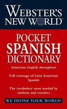 Websters New World Pocket Spanish Dictionary by Chambers Harrap Publishers Ltd.