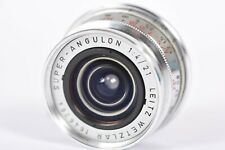 Leitz Wetzlar Super-Angulon 21mm f/4 for Leica M  **SERVICED BY YYE**   #P6264