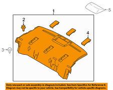 TOYOTA OEM INTERIOR-REAR BODY-Package Tray Trim 64330WB005