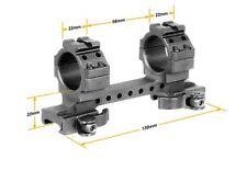 Leapers UTG 30mm 1pc QD Lever Lock High Weaver/Picatinny Mount Ring M3D56100R2