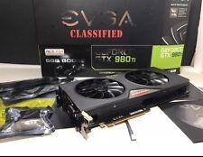 EVGA GTX 980 Ti Classified 6GB GDDR 5. sehr schneller Versand!!! Versicherter Versand