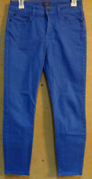"Not Your Daughter's Jeans NYDJ size 2 Blue Dyed Clarissa Ankle Stretch 28"" Waist"