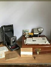 Vintage Polaroid 900 Electric Eye Land Camera Original Case Manual