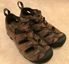 VGC! Mens Keen Brown Waterproof Hiking Sneakers Sz 7