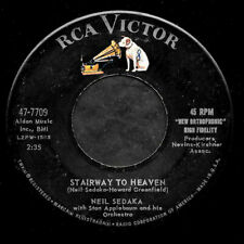"NEIL SEDAKA ""STAIRWAY TO HEAVEN/Forty Winks Away"" RCA VICTOR 47-7709 (1960) 45"
