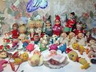 Vintage 1950's 60's Elf, pixie, angels, Christmas ornaments from Japan huge lot