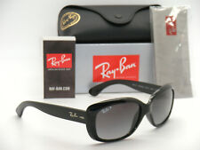 Authentic Ray-Ban Jackie OHH RB 4101 601/T3 58mm Black / Gray Gradient Polarized