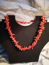 Collar De Coral Rama Vintage