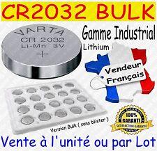 Lot de 5 piles boutons CR2016 VARTA Lithium 3V - Dispo aussi : CR2025 ou CR2032