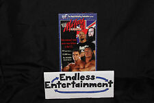 Mayhem in Manchester 1998 WWF WWE VHS With Slipcover Classic Wrestling Action!