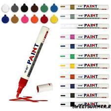 12/set Markers Paint Pens Oil Art Glass Metal Waterproof Pastels Fine Pen 04