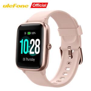 Ulefone 5ATM Waterproof Bluetooth Smart Watch Heart Rate Monitor Fitness Tracker