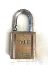 Vintage Antique Pad Lock Yale