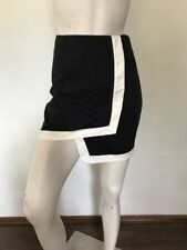 Bardot Short Skirt Size 10, Black And White