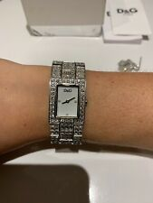 D&G Ladies Silver Wrist Watch