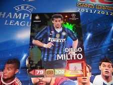 Panini Adrenalyn Champions League 2011/2012 Limited Edition DIEGO MILITO