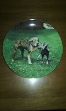 """""""Pete's Pal"""" The Little Rascals Plate Collection Hamilton Collection Mib Coa"""
