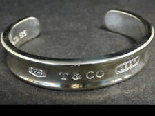 "Tiffany & Co. Sterling Silver 1837 6.5"" Cuff Bracelet"