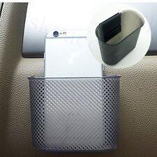 Car Auto Accessories Storage String Bag Bin Case Cup Phone Gadget Holder Pocket