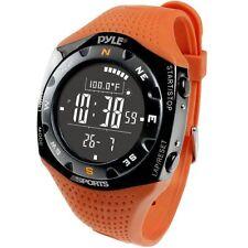 Pyle Ski Master V Watch w/ Ski Logbook, Weather Forecast, Altimeter, Barometer