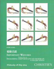 CHRISTIE'S HK WATCHES Cartier Chopard Muller Patek Piguet Rolex Vacheron Cat 14